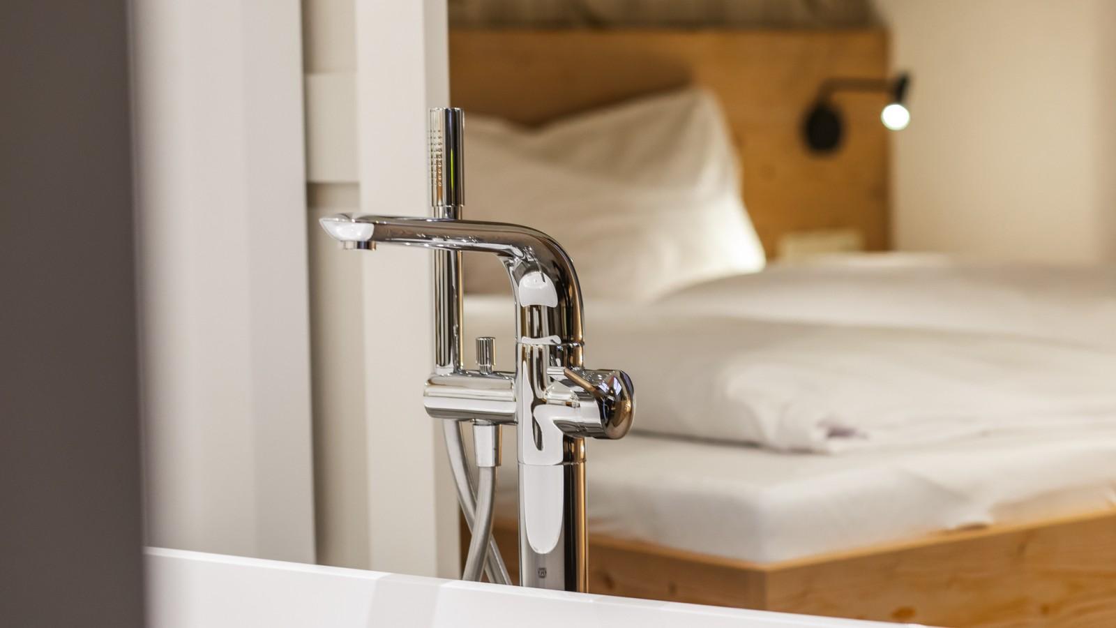 HELDs Vitalhotel | Room HELDenBlick Bathtub