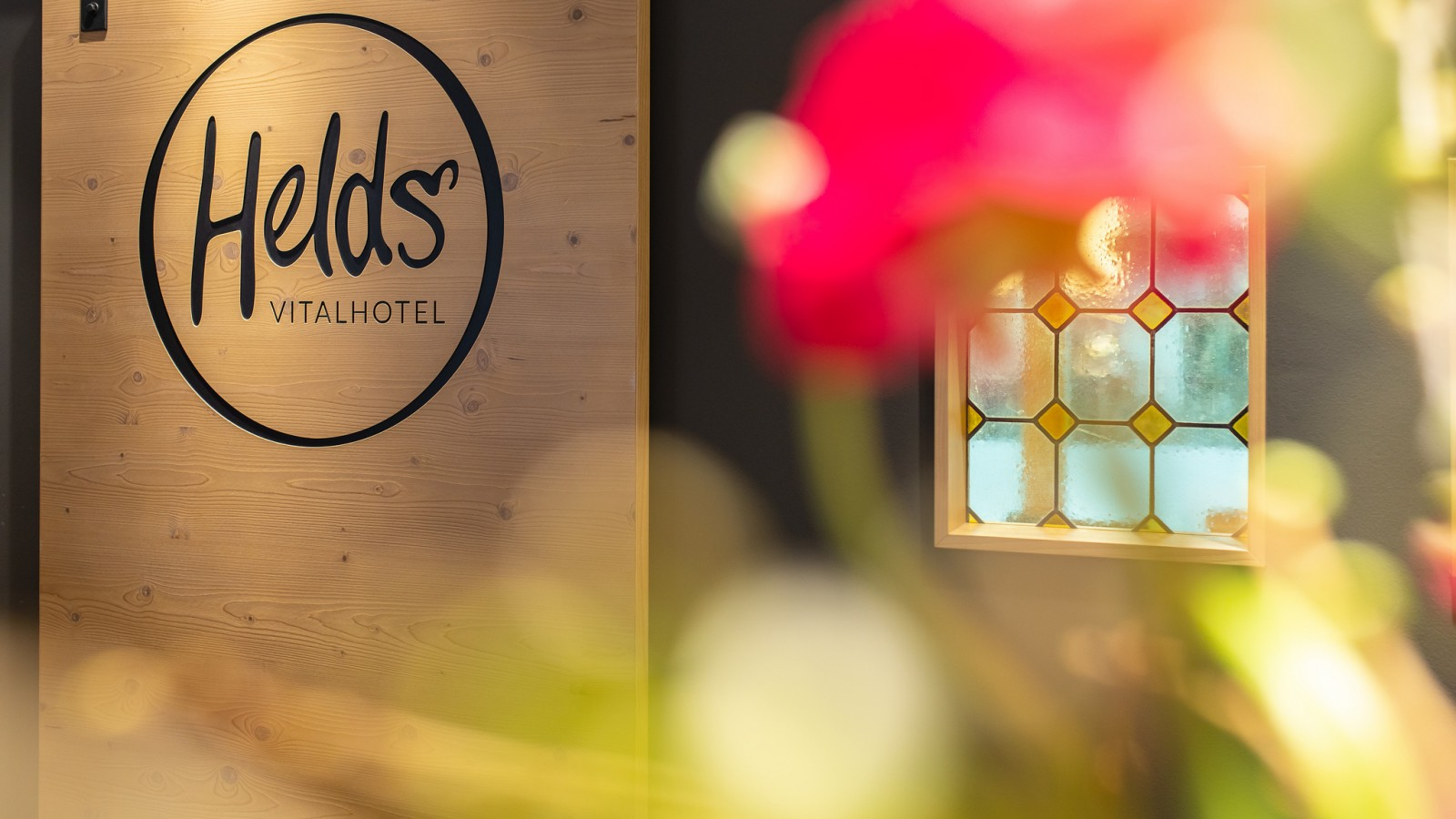 HELDs Vitalhotel | Rezeption Logo