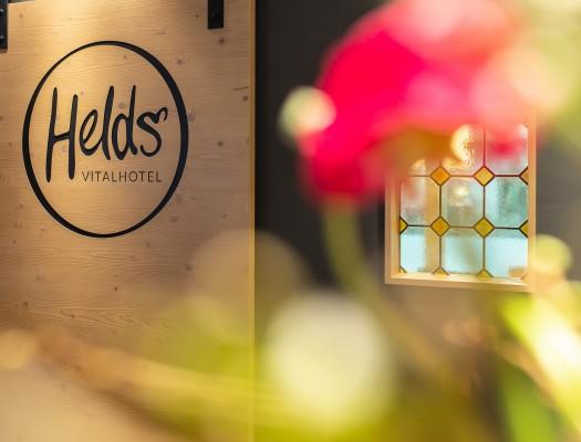 HELDs Vitalhotel | Rezeption Logo
