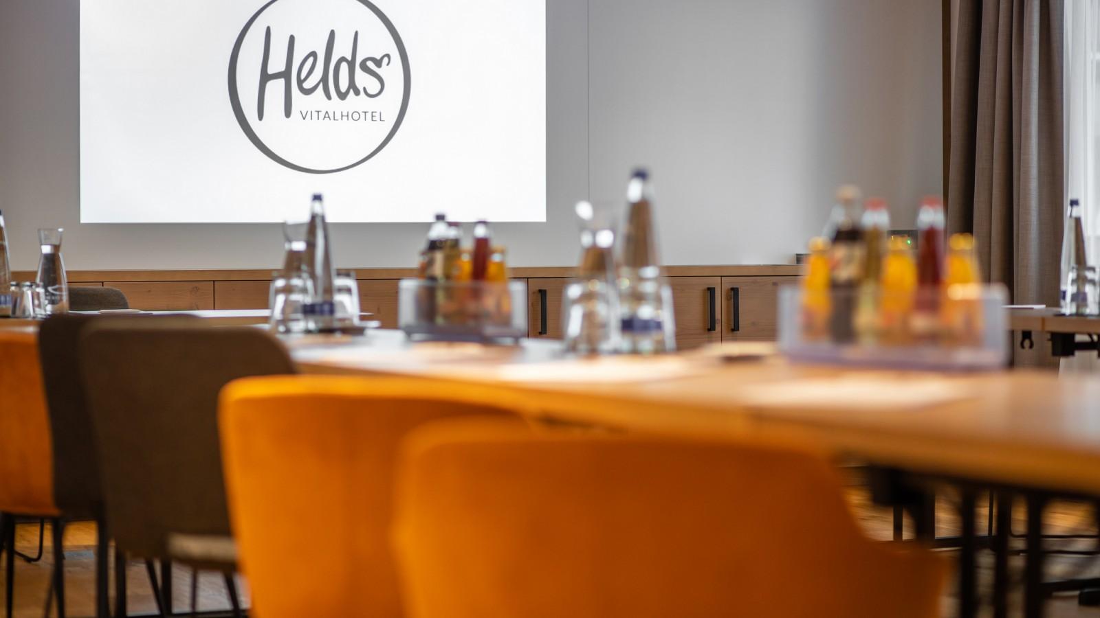 HELDs Vitalhotel | Conference Room Max&Moritz Logo