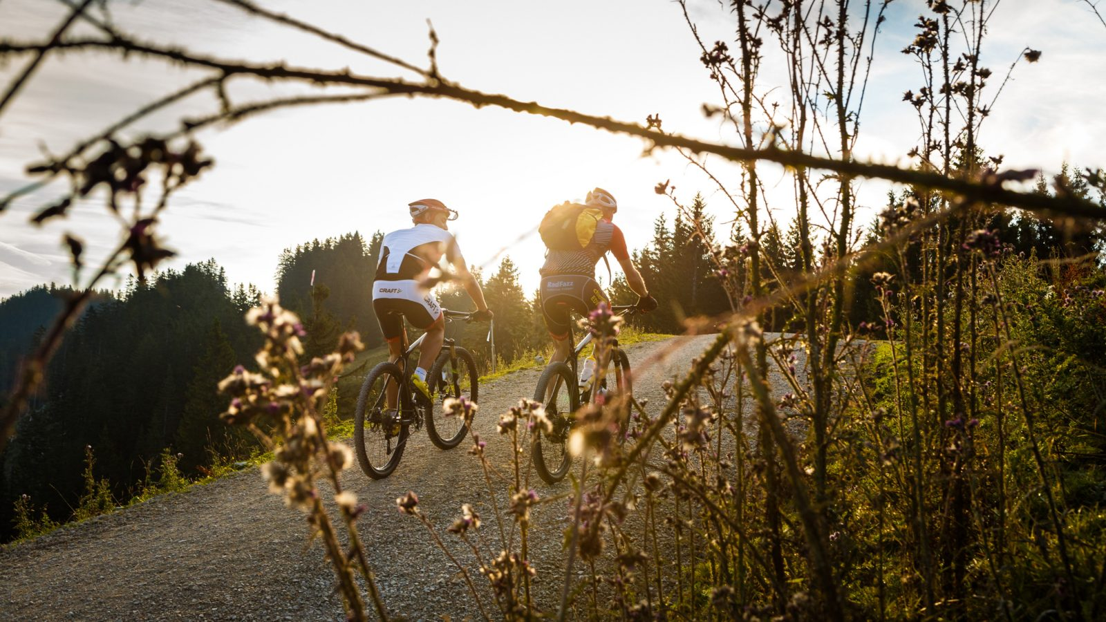 2 Mountainbike am Unternberg
