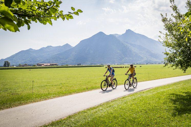 Helds Vitalhotel Ruhpolding Radfahren