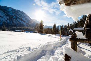 Weihnachtsurlaub im Chiemgau